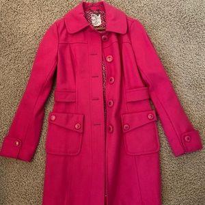 PINK DRESS COAT